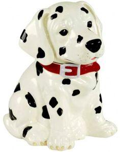 Dalmatian Puppy Cookie Jar