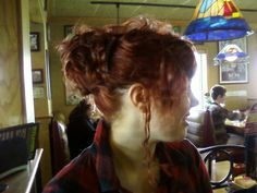 My daughter's up-do for prom.