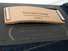 So they could make my waist and butt and thighs fit all at once? WHAT? Jeans Personalizzato | Tramarossa