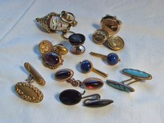 Destash Cuff Link Lot Findings Victorian by FragmentsAnotherTime, $20.00