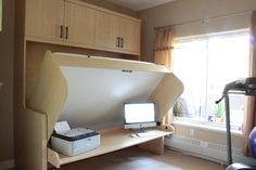 Calgary Desk Beds, Fold Away Beds, Hide-a-Beds HiddenBed Alberta