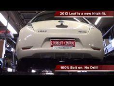 2013+ Nissan Leaf Hidden Ecohitch Trailer Hitch Installation-Torklift Central