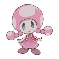 My favorite Mario character: Toadette!!