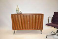 Teak sideboard credenza 60er vintage