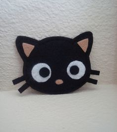 Chococat pin but I'm going to make this a hair clip for my little girl.