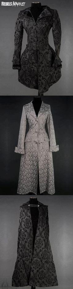 Shop gothic Victorian coats at RebelsMarket.