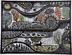 Paper cuttings by Ueli Hofer