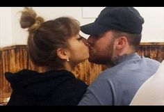 Ariana Grande and Mac Miller kiss in restaurant amid dating rumours
