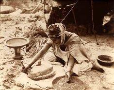 Scène de la vie quotidienne, Algérie,  1920