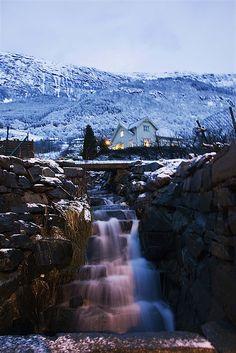 Ullensvang, Hardangerfjord in Norway by RoDa64, via Flickr