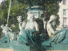 Fontanna na Placu Rossio #lizbona #portugalia #portugal #lisbon