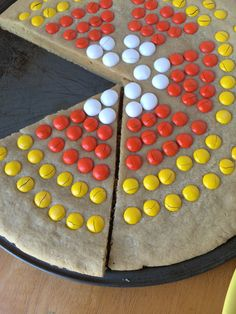giant m amp m candy corn cookie recipe # halloween # fall