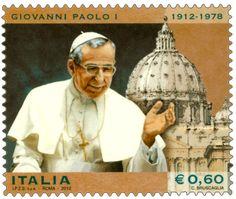 Emissione di un francobollo commemorativo di Giovanni Paolo I, nel centenario della nascita