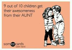 I'm a very proud aunt ;)