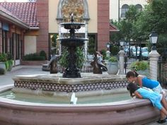 """Court of the Penguins Fountain"" Location: 525 Nichols Road, Kansas City,"