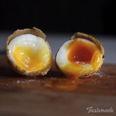 You'll never look at a soft boiled egg the same way again.