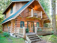 Your cabin in the mountains -- Log home located directly across the summer recreation area in the Snowline community. #northcascades #mountbaker #summer