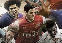This project is about summing up exciting season in premier league High position of the player on the image reflects his clubs position at the end of the season. Mikel Arteta, Premier League, Behance, Seasons, Seasons Of The Year