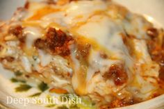 Divine Casserole, sometimes called simply Sour Cream Noodle Bake, is sort of a cross between baked spaghetti and lasagna in its flavor. Ma...