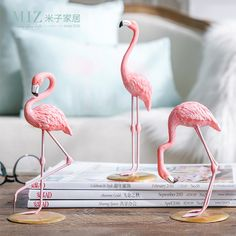 Miz Home 1 Piece Resin Pink Flamingo Home Decor Figure for Girl Ins Hot Home Decor Gifts for Girl -in Figurines & Miniatures from Home & Garden on Aliexpress.com   Alibaba Group