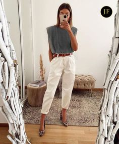 Mode Outfits, Chic Outfits, Fashion Outfits, Womens Fashion, Stylish Work Outfits, Fashion Hacks, Girl Outfits, Looks Chic, Casual Looks