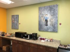 North Park Main Street offices showcasing the Ancestral Series by Patric Stillman
