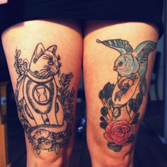 one day I will have a kitty tattoo ^_^ meow