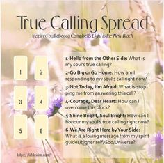 True Calling Spread from Fable's Den