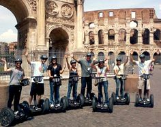 Segway Rome tours makes the city seem even more beautiful than ever.