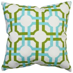 Groovy Grille, Confetti 16x16 such a fabulous summery pop #pillow