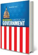 Magruder's American Government: Updated since 1917, this resource has an incredible array of American Government content. It offers clear narrative, engaging technology, essential questions, learning from Primary Sources, and interactive online activities. It is your right to check this page out! It says so in the Constitution (pending Judicial Review)