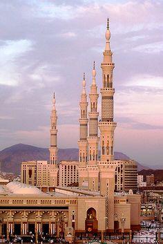 al-masjid al-nabawī (prophet's mosque), medina, saudi arabia | islamic architecture