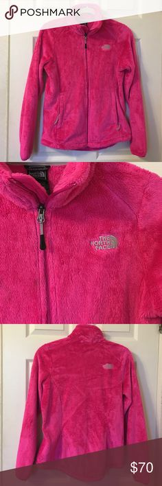 New! The North Face Pink Osito Jacket In perfect new condition no flaws!! Just too small for me. Really pretty pink color. 🚫🙅No Trades🙅🚫 The North Face Jackets & Coats