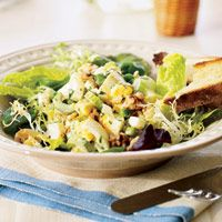 curried egg salad on greens curried egg salad on greens salad ...