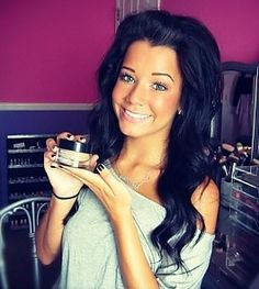Love her hair! Meg aka Ciaoobelllaxo on YouTube!