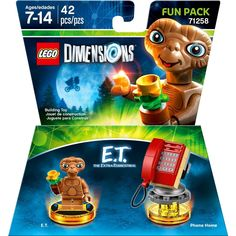Lego Dimensions - E.T. the Extra-Terrestrial™Fun Pack, 1000590035