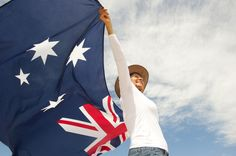 Woman With Akubra Hat And Australian Flag Stock Image - Image of mature, clouds: 28004487 Work In Australia, Australia Tours, Akubra Hats, Australian Slang, Brisbane Kids, Holidays Around The World, Beach Images, Thought Catalog, Rich People