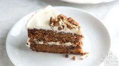 Een echte bak-klassieker: DIT is het recept voor de allerlekkerste worteltjestaart!