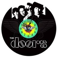24,50 € Horloge vinyle décoration The Doors