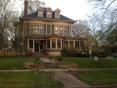 The Old West End in Toledo has some beautiful old homes