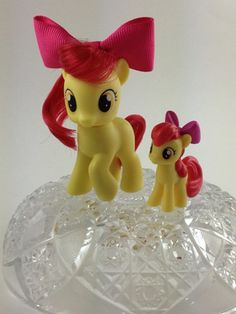 Custom My Little Pony Applebloom's Bow $5