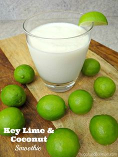 Key Lime and Coconut Smoothie #Ad