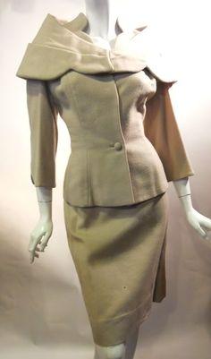 1950s caped suit, Lilli Ann. Dorothea's Closet Vintage archives