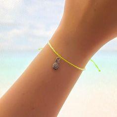 Pineapple Friendship Bracelet - Best Friend Bracelet - Best Friend Gift - Gift for Her - Beaded Bracelet - Pineapple Bracelet