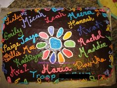 Daisy Scout cake