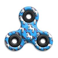 SPINNERS squad fidget toys Unicorn Blue