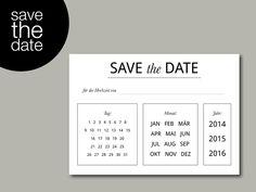 Liebevoll gestaltete *Save-the-Date Karte* für den besonderen Tag!  Der Hochzeitstermin steht fest, aber es ist noch zu früh für die eigentliche Einladung?  Dann teilt euren Gästen mit dieser...