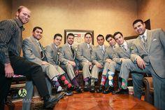 Grooms and groomsmen fun socks | Lasting Images Photography | villasiena.cc