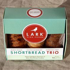 Lark shortbread cookies,one of our bestsellers!