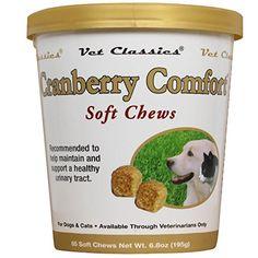 Cranberry Comfort for Dogs & Cats (65 Soft Chews) Garmon ... https://www.amazon.com/dp/B00II6XKC8/ref=cm_sw_r_pi_dp_x_kkWnybEFXAPJT
